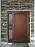 drzwi drewniane nietypowe z dostawką nr 2
