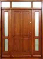 drzwi drewniane 4 kasetony z dostawkami