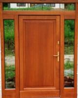 drzwi zewnętrzne nr 2 kasetonowe