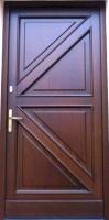 drzwi zewnętrzne nr 4kasetonowe