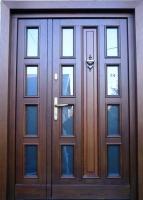 drzwi zewnętrzne nr 5 kasetonowe